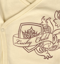 Lucky Child | Боди Lucky Child, цвет: бежевый | Clouty