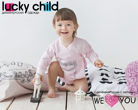 Lucky Child | Боди Lucky Child, цвет: розовый | Clouty