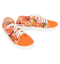 Anra | Кеды Anra, цвет: оранжевый | Clouty