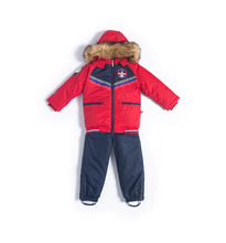 Лайки   Комплект куртка/комбинезон Лайки, цвет: красный/синий   Clouty