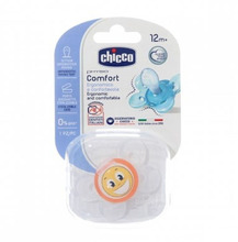 Chicco | Пустышка Chicco Physio Comfort Smile силикон, с 12 мес, | Clouty
