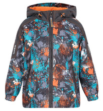 Saima   Комплект куртка/брюки Saima, цвет: оранжевый/серый   Clouty