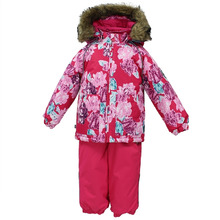 Huppa | Комплект куртка/брюки Huppa Avery, цвет: фуксия | Clouty