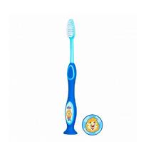 Chicco | Зубная щетка Chicco с присоской, цвет: голубой | Clouty