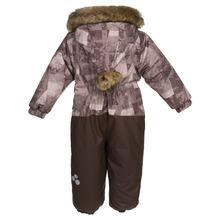 Huppa | Huppa Комбинезон утепленный Devon 1, цвет: бежевый/коричневый | Clouty