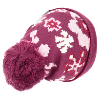 Huppa | Шапка Huppa Floral, цвет: бордовый | Clouty