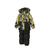 Huppa | Комплект куртка/полукомбинезон Huppa Russel, цвет: черный | Clouty