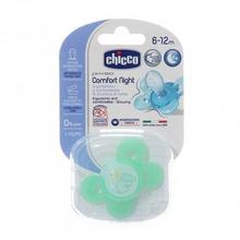 Chicco | Пустышка Chicco Physio Comfort Lumi силикон, с 6 мес, | Clouty
