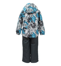 Huppa   Комплект куртка/полукомбинезон Huppa Yoko, цвет: серый   Clouty