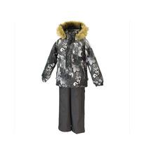 Huppa | Комплект куртка/полукомбинезон Huppa Winter, цвет: серый | Clouty