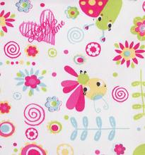 Игруша   Коляска-люлька для кукол Игруша (белый+розовый/бабочки) 55 см   Clouty