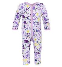 Lucky Child | Комбинезон Lucky Child 'Веселые нотки', цвет: фиолетовый/молочный | Clouty