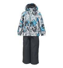 Huppa   Комплект куртка/брюки Huppa Yoko 1, цвет: серый   Clouty