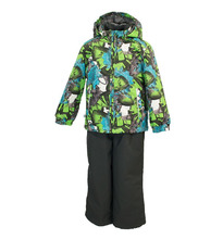 Huppa | Комплект куртка/полукомбинезон Huppa Yoko, цвет: зеленый | Clouty