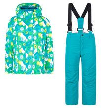 Fobs | Комплект куртка/полукомбинезон Fobs, цвет: зеленый | Clouty
