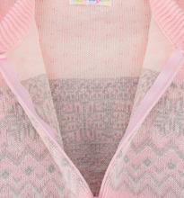 Уси-Пуси | Комбинезон Уси-Пуси 'Снежинка', цвет: розовый/серый | Clouty