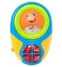 Игруша | Развивающая игрушка Игруша Музыкальный плеер сине-зеленый 10 x 13 x 3.5 см | Clouty
