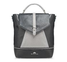 WITTCHEN | Рюкзак кожаный Wittchen 85-4E-362-1, черный | Clouty