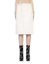 VETEMENTS | Кожаная юбка | Clouty