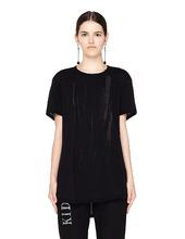 Ann Demeulemeester | Черная футболка с принтом | Clouty